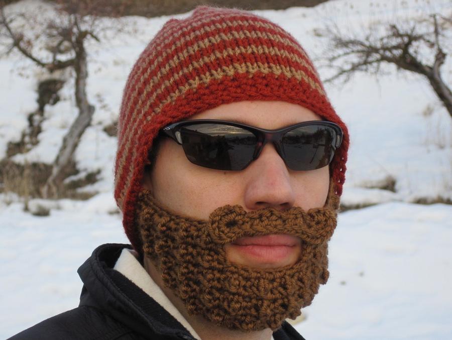 Шапка с бородой 8