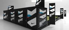 Мобильная площадка Nike Chance.