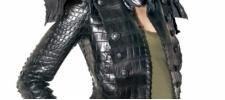 Balmain: жакет из крокодила за 75 000$.