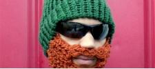 Beard Beanies: шапки с бородой.
