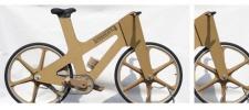 Велосипед из картона.