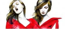Fashion-иллюстратор Caroline Andrieu.