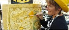 Сырный арт от Сары Кауфман (Sarah Kaufmann).