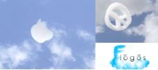 Flogos. Облака в виде логотипов.