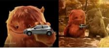Новый Ford Ka и мохнатые монстры.