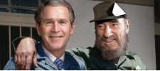 Джордж Буш младший (George W. Bush) в мировой рекламе.