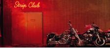 Harley-Davidson: Strip club.