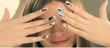 Kia Picanto: первая в мире реклама на ногтях.