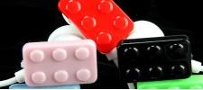 Наушники в стиле Lego.