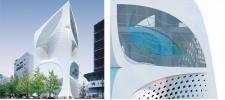 Дизайн флагманского магазина Louis Vuitton в Японии.UNStudio.