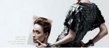 Marie Claire: безголовые модели. Принты.