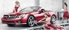 Фабрика грёз Mercedes. Реклама для самцов.