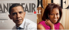 Мистер и миссис Обама. Vogue и Vanity Fair.