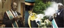 Каддафи, Мугабе и другие в рекламе Nando's: последние диктаторы.