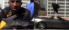 Nike. Прыжок Кобе Брайанта через Aston Martin.