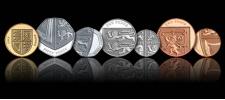 Новые английские монеты.