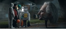 Snickers: Horseless Headman.