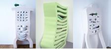 Мягкие шкафчики от DEWI VAN DE KLOMP.