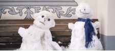 Zurich Insurance: спасти снеговика.